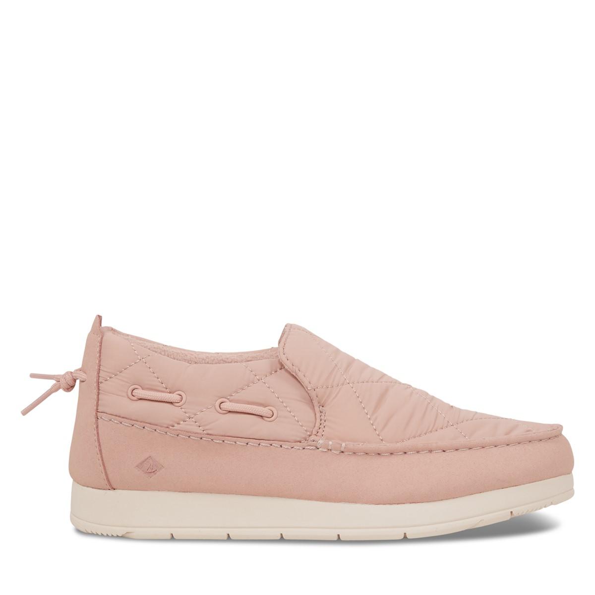 Women's Moc-Sider Slip-On Sneakers in Pink