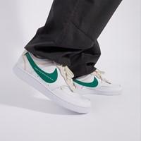Baskets Court Vision Low Premium blanc et vert pour hommes
