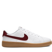 Men's Court Royale 2 Low Sneakers in White/Red