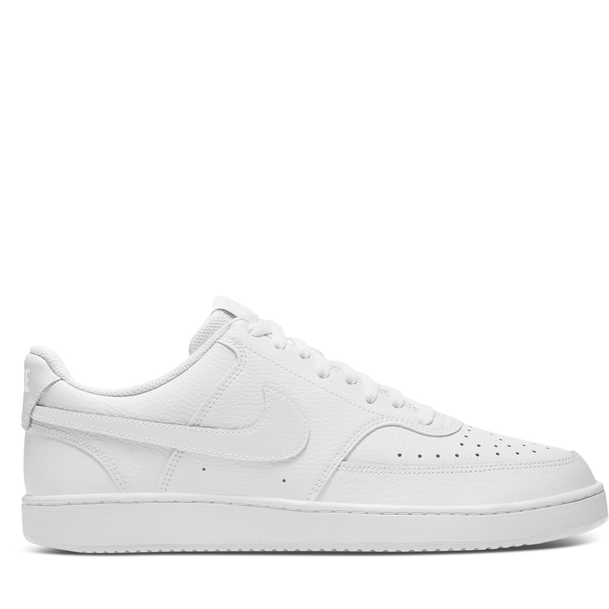 Men's Court Vision Low Sneakers in White