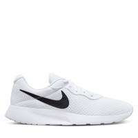 Men's Tanjun Sneakers in White/Black