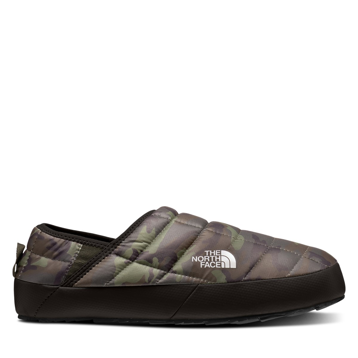 Men's Thermoball Mule Slippers in Camo Green
