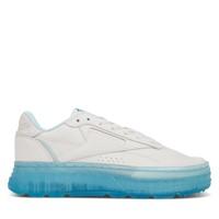 Women's MADWOMEN Club C Double Geo Platform Sneakers in Chalk/Blue
