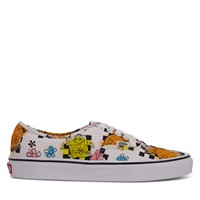 SpongeBob Themed Authentic Sneakers in White