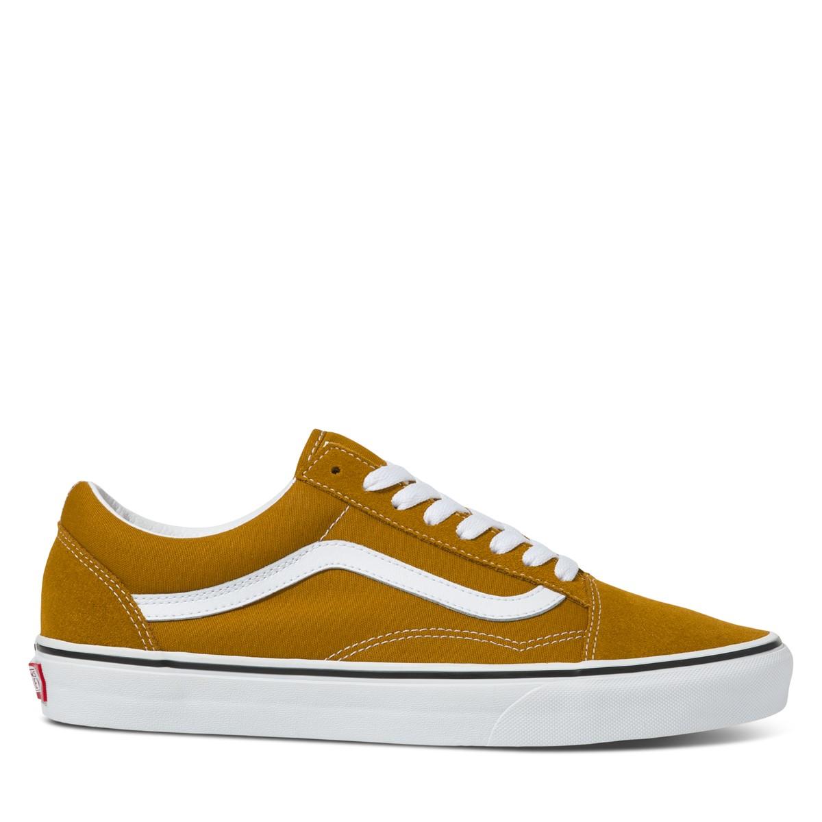 Old Skool Sneakers in Gold Brown