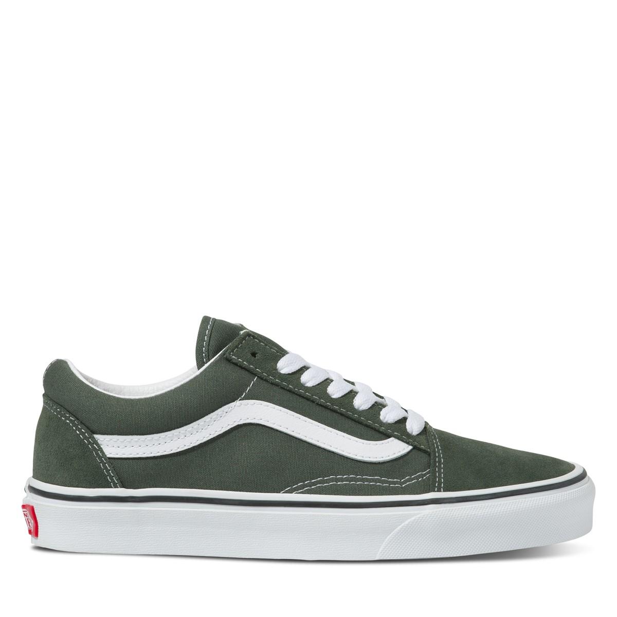 Old Skool Sneakers in Dark Green
