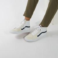 Baskets Classic Sport Sk8-Hi blanc et bleu
