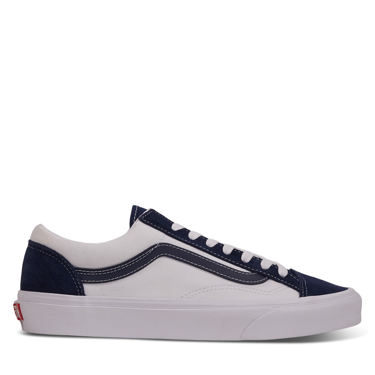 Classic Sport Style 36 Sneakers in White/Blue