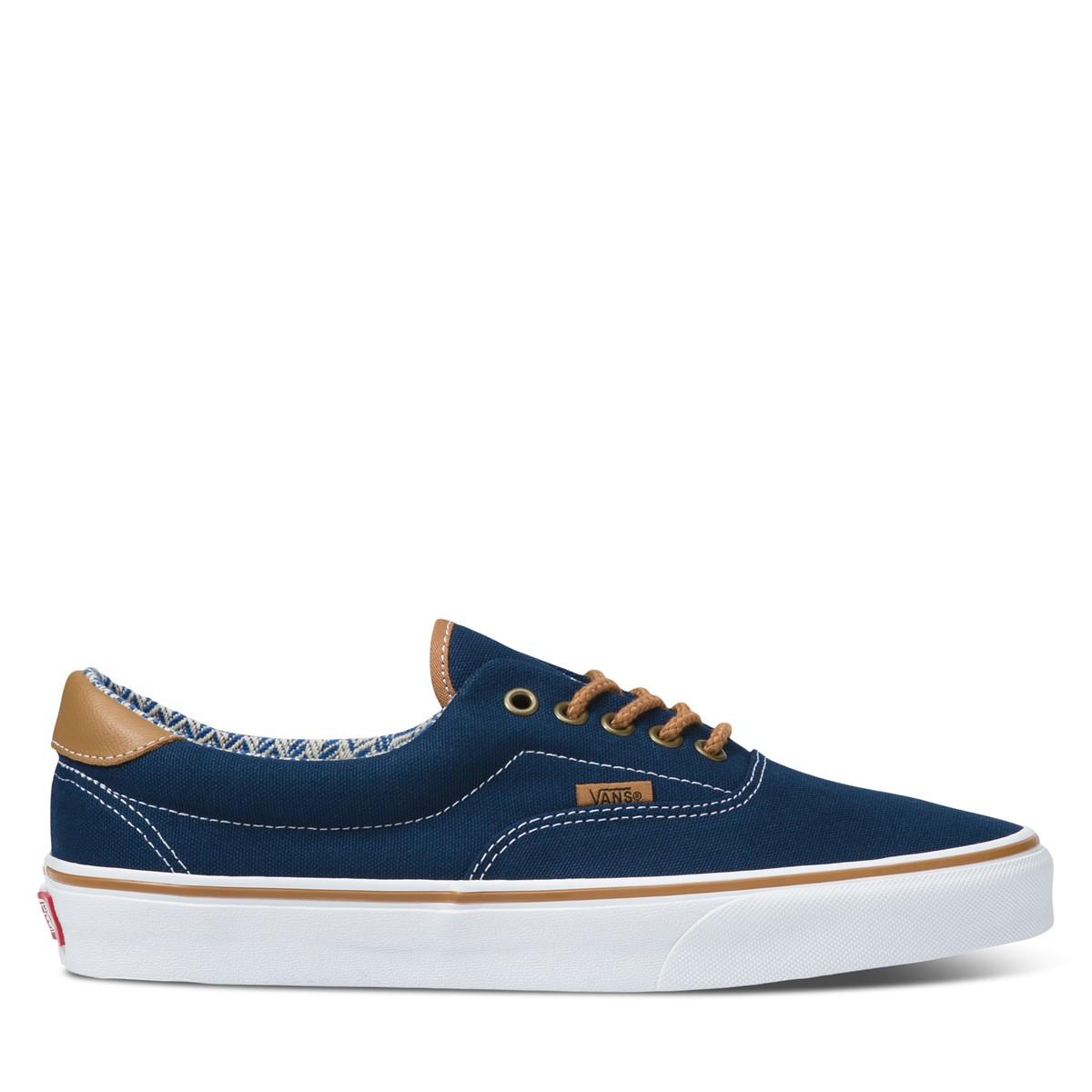 Era 59 Sneakers in Navy/Brown