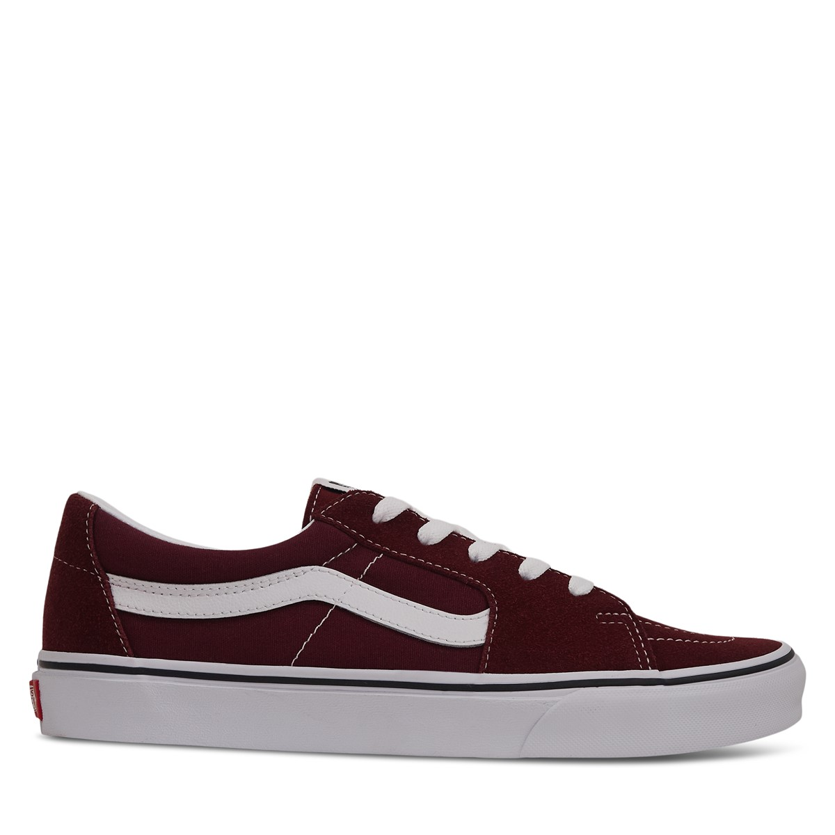 Sk8-Low Sneakers in Red/White