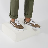 Baskets Sk8-Low taupe et blanc