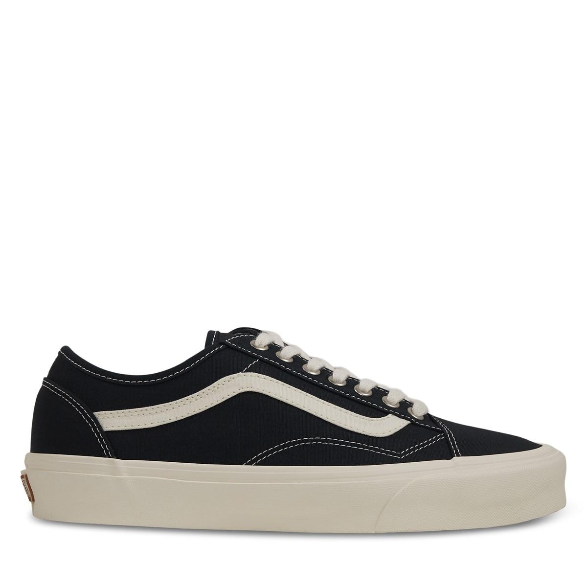 Eco Theory Old Skool Sneakers in Black/Beige