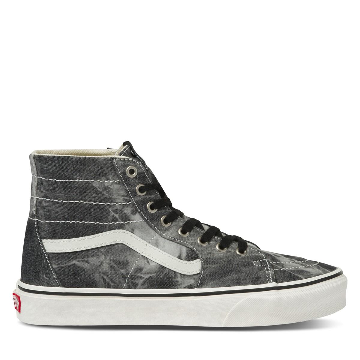 Denim Destroy Sk8-Hi Sneakers