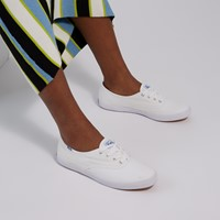 Women's Organic Cotton Champion Sneakers in White