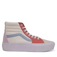 Sk8-Hi 2.0 High Top Platform Sneakers in Pastel/White