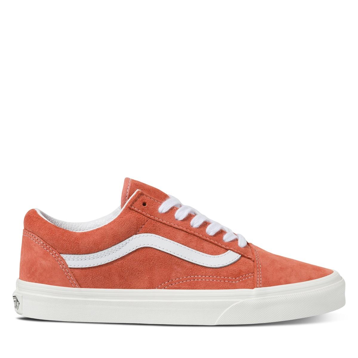 Women's Old Skool Sneakers in Pink Suede