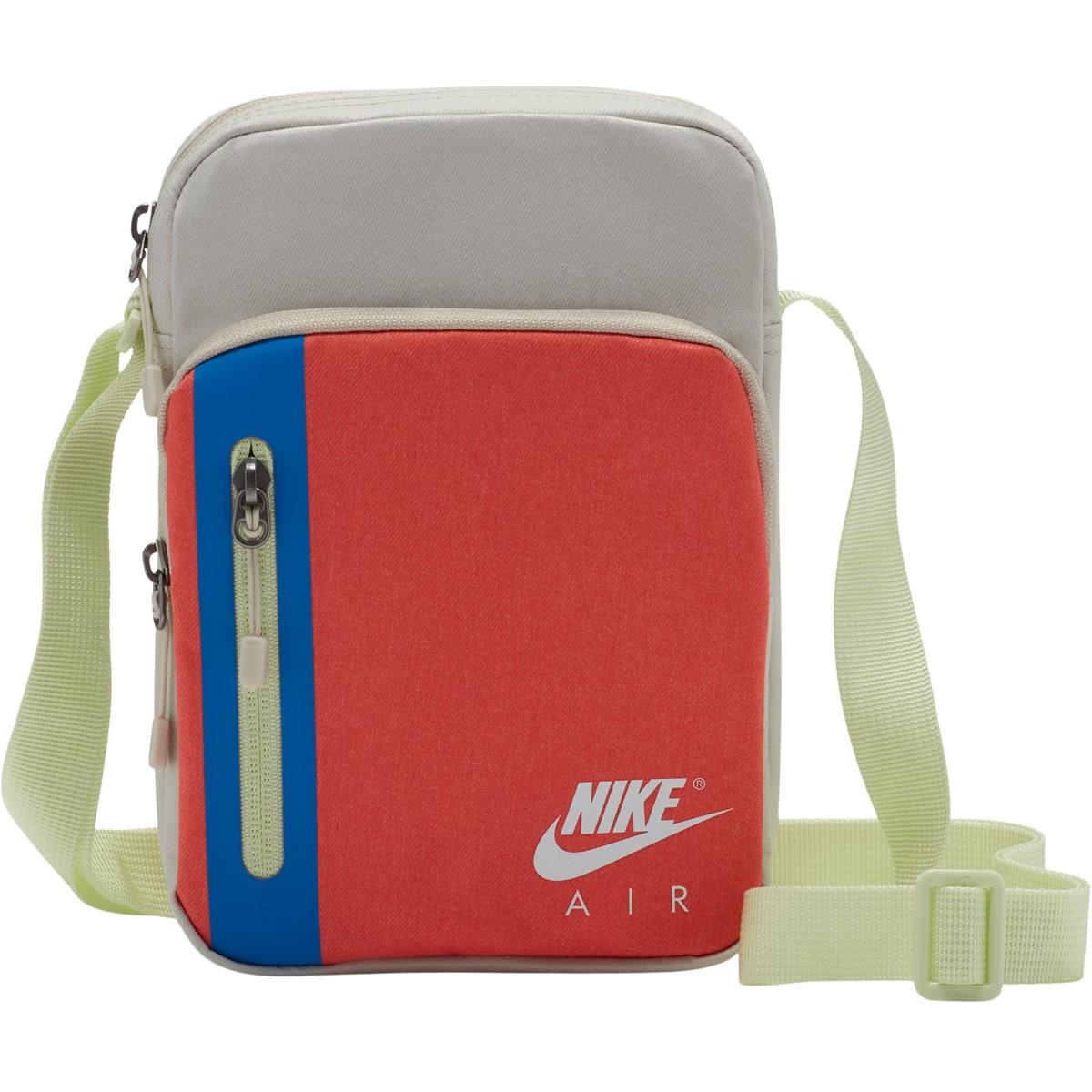 Tech Crossbody Bag in White/Red/Blue