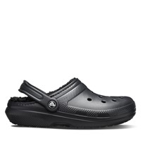 Classic Lined Clog Sandals in Black