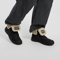 Men's Baggy LTH ESS WPS Lace-up Boots in Black