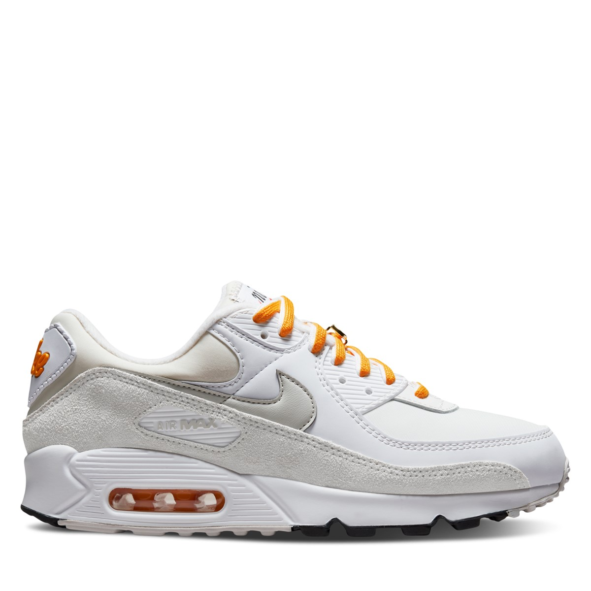 Women's Air Max 90 SE Sneakers in White/Beige