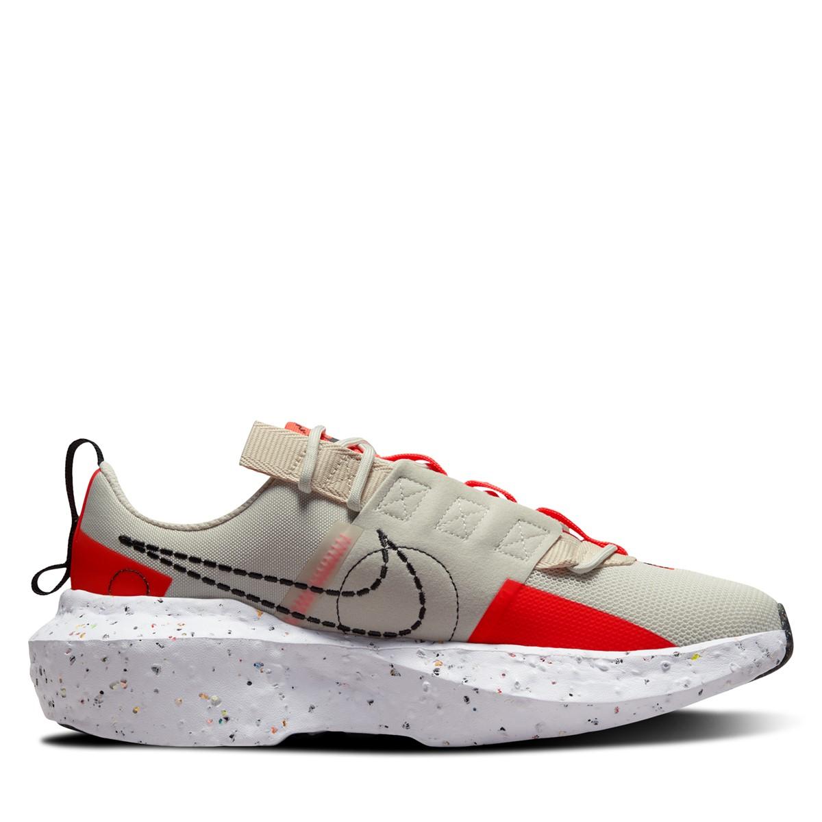 Women's Crater Impact Sneakers in Beige/Red