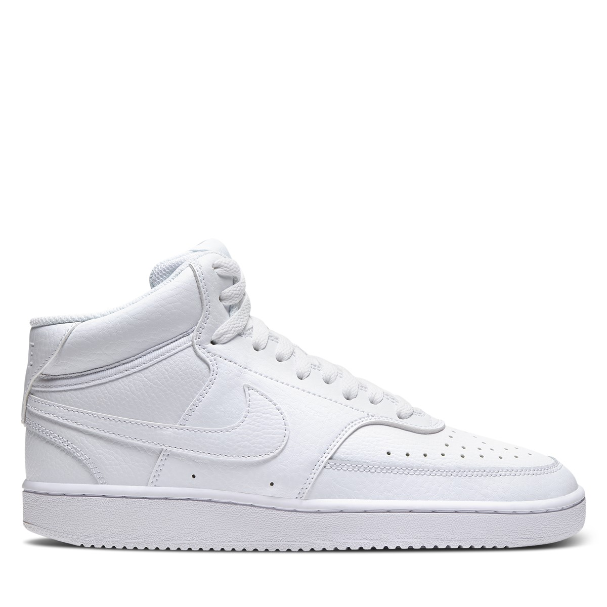 Women's Court Vision Mid Sneakers in White