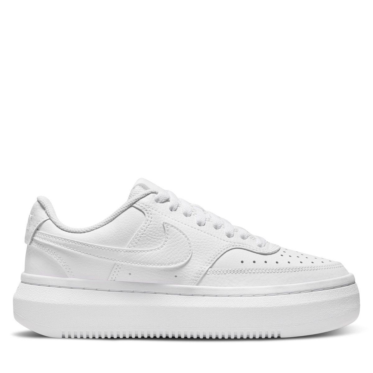 Women's Court Vision Alta Sneakers in White