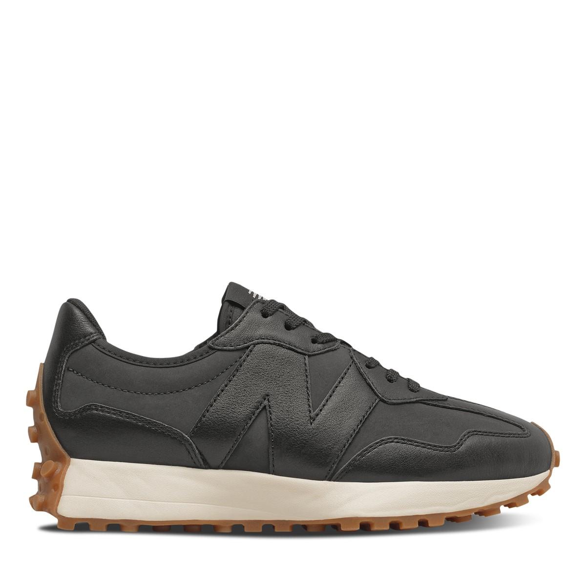 Women's 327 Sneakers in Black/Gum