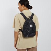 Nova Mini Backpack in Black Marble