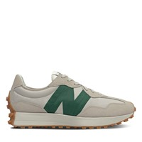 Men's 327 Sneakers in Beige/ Green