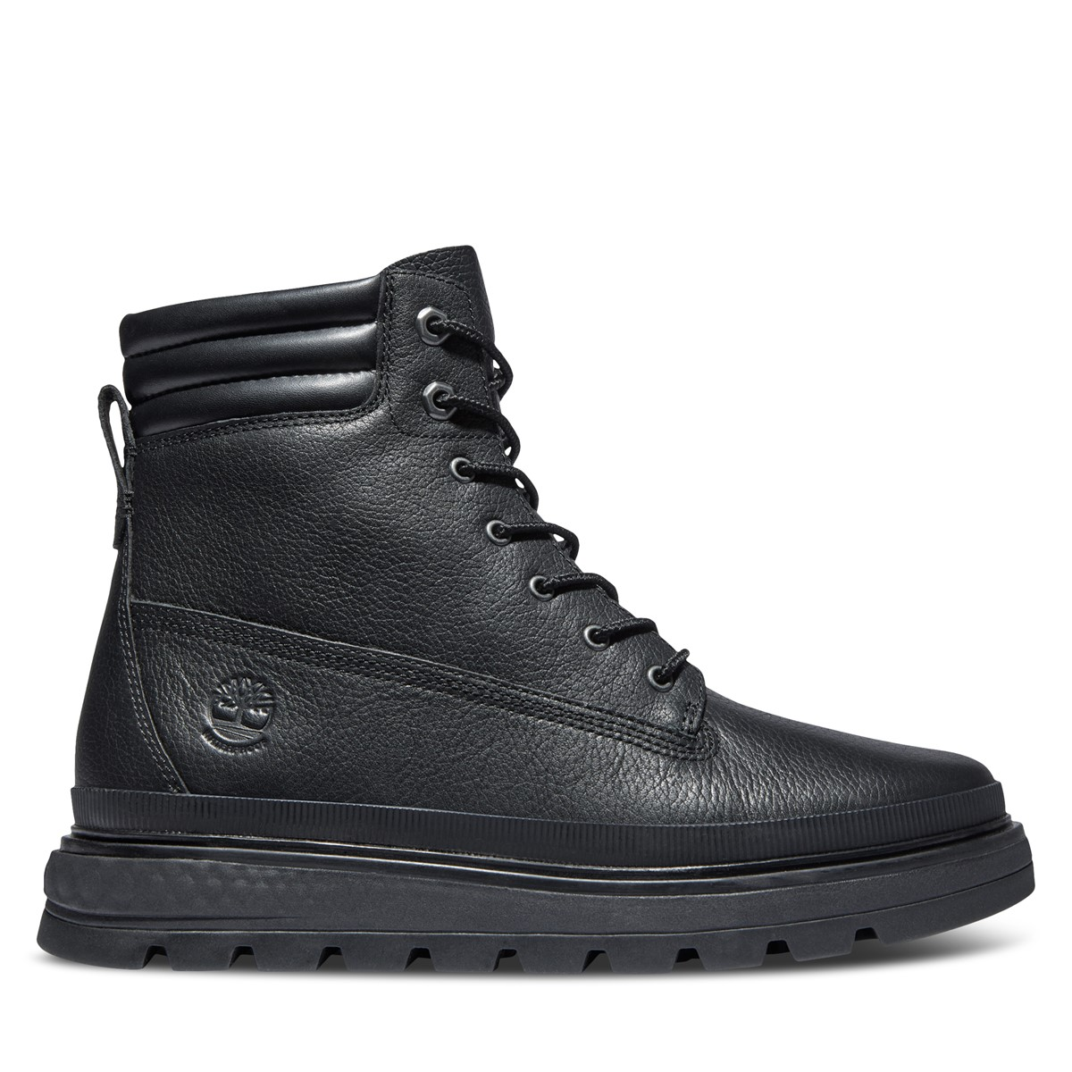 Women's Ray City Lace-up Boots in Black
