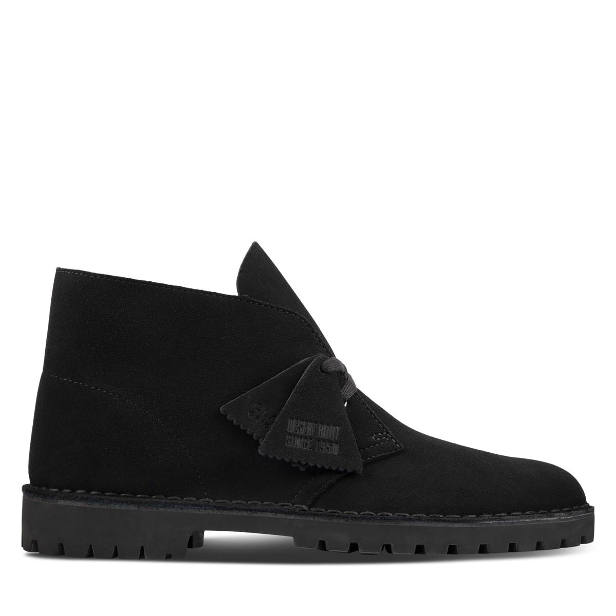 Men's Desert Rock Boots in Black