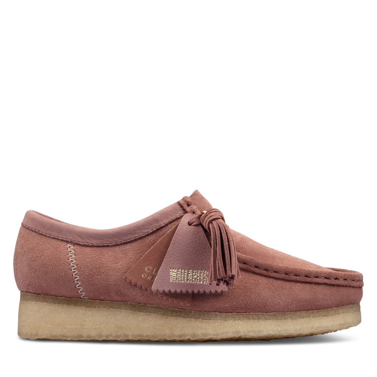 Women's Wallabee Moccasin Shoes in Pink