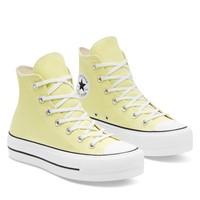 Baskets Chuck Taylor Lift Hi jaunes pour femmes