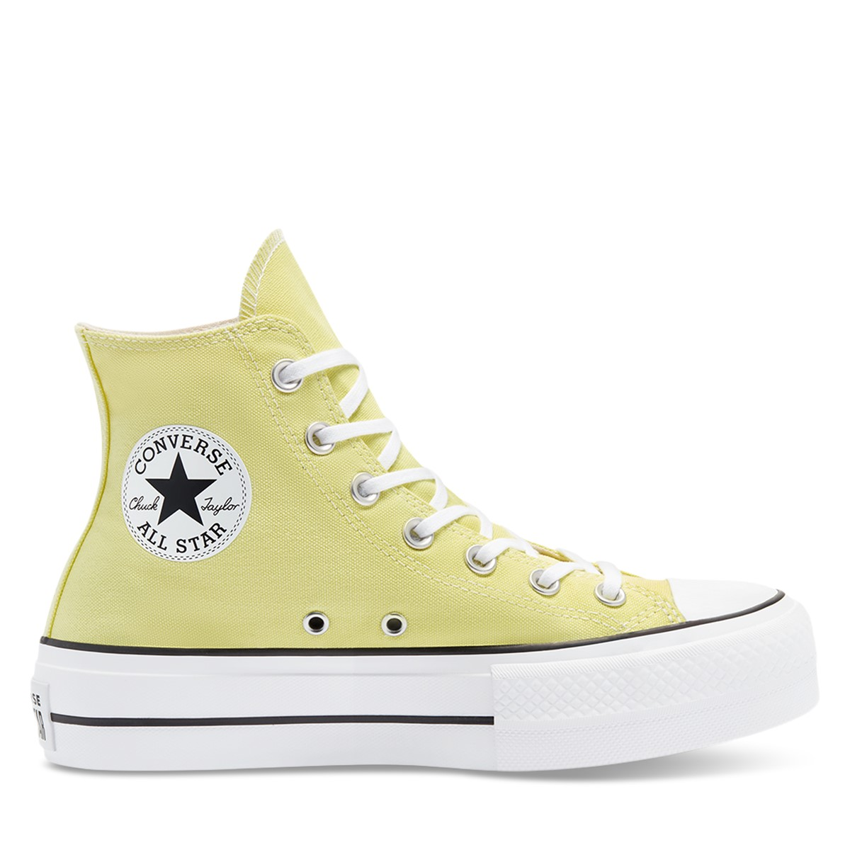 Women's Chuck Taylor Lift Hi Sneakers in Yellow