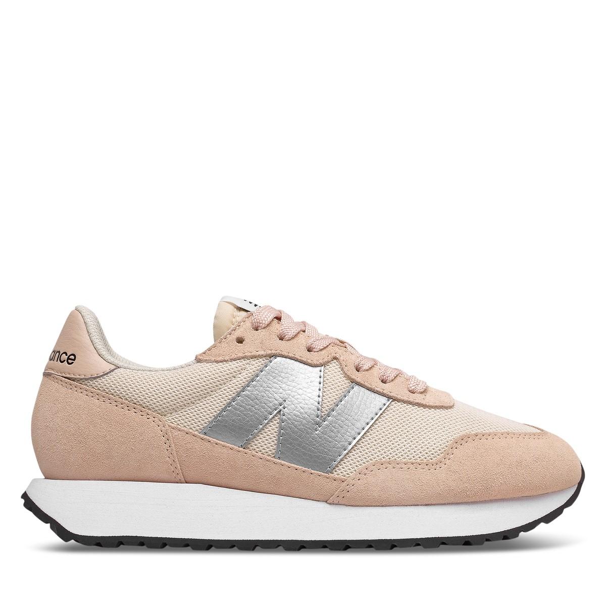 Women's 237 Sneakers in Light Pink/Silver