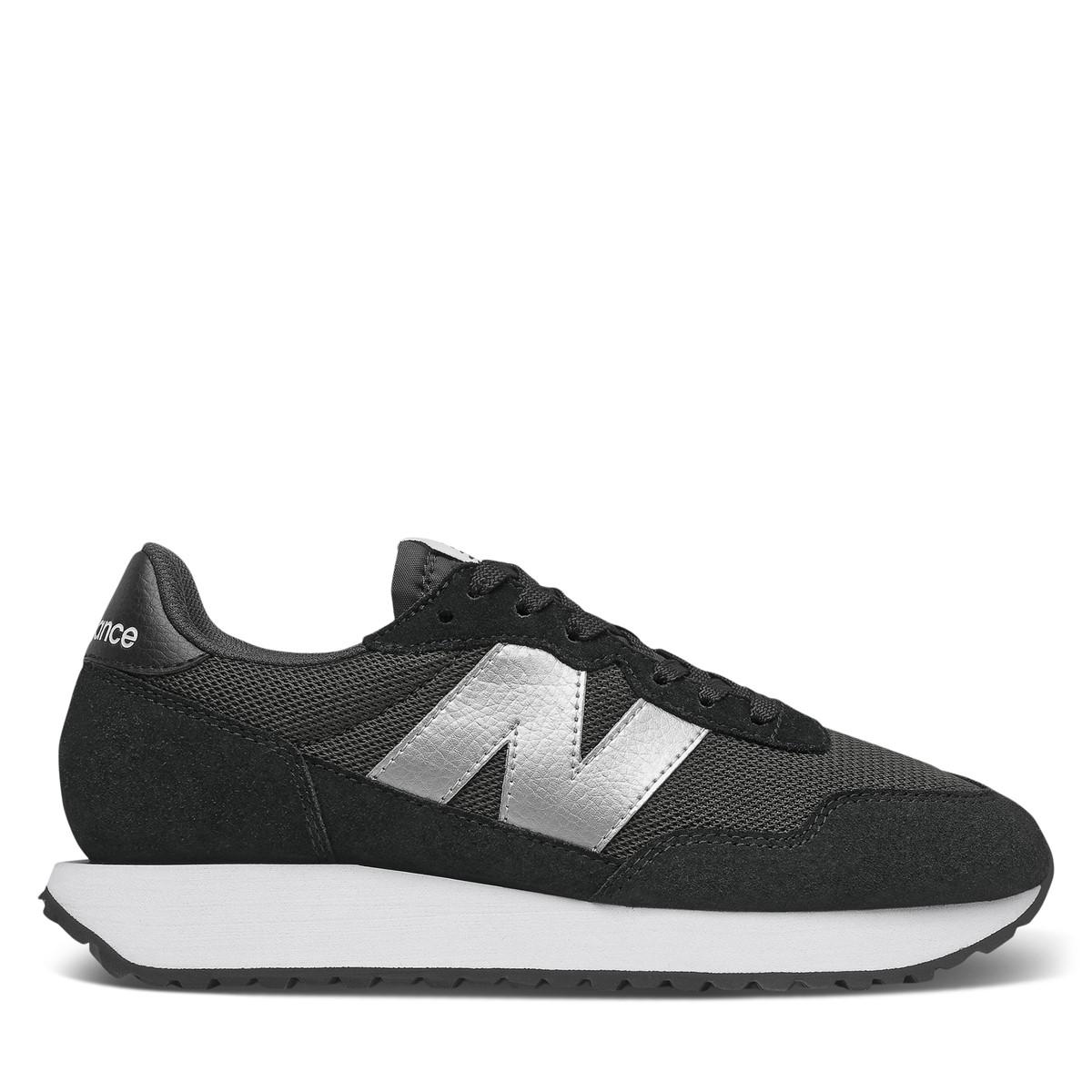 Women's 237 Sneakers in Light Black/Silver