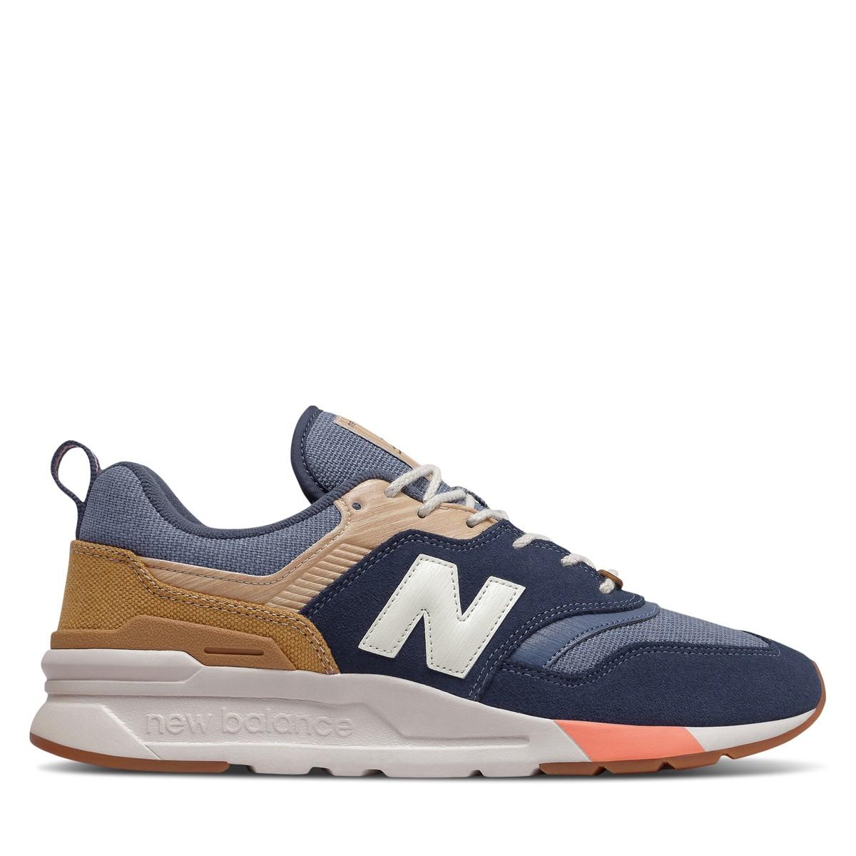 Men's 997H Spring Hike Sneakers in Navy/Beige