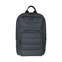 Base Bad Mini Quilted Backpack in Dark Grey
