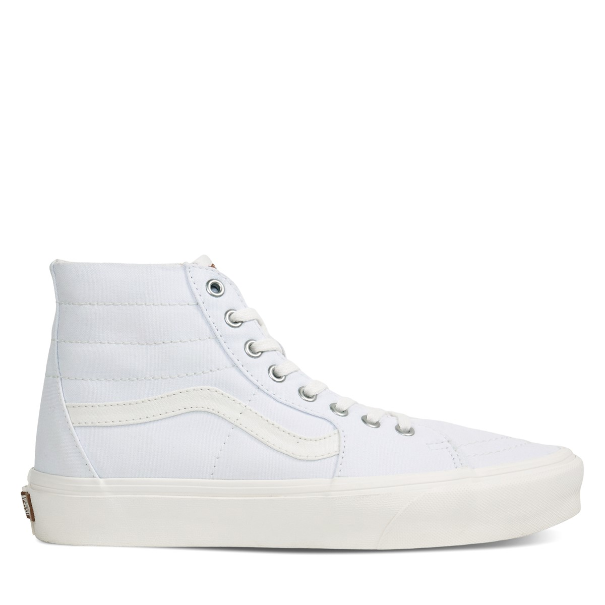 Eco Theory Sk8-Hi Sneakers in White/Beige