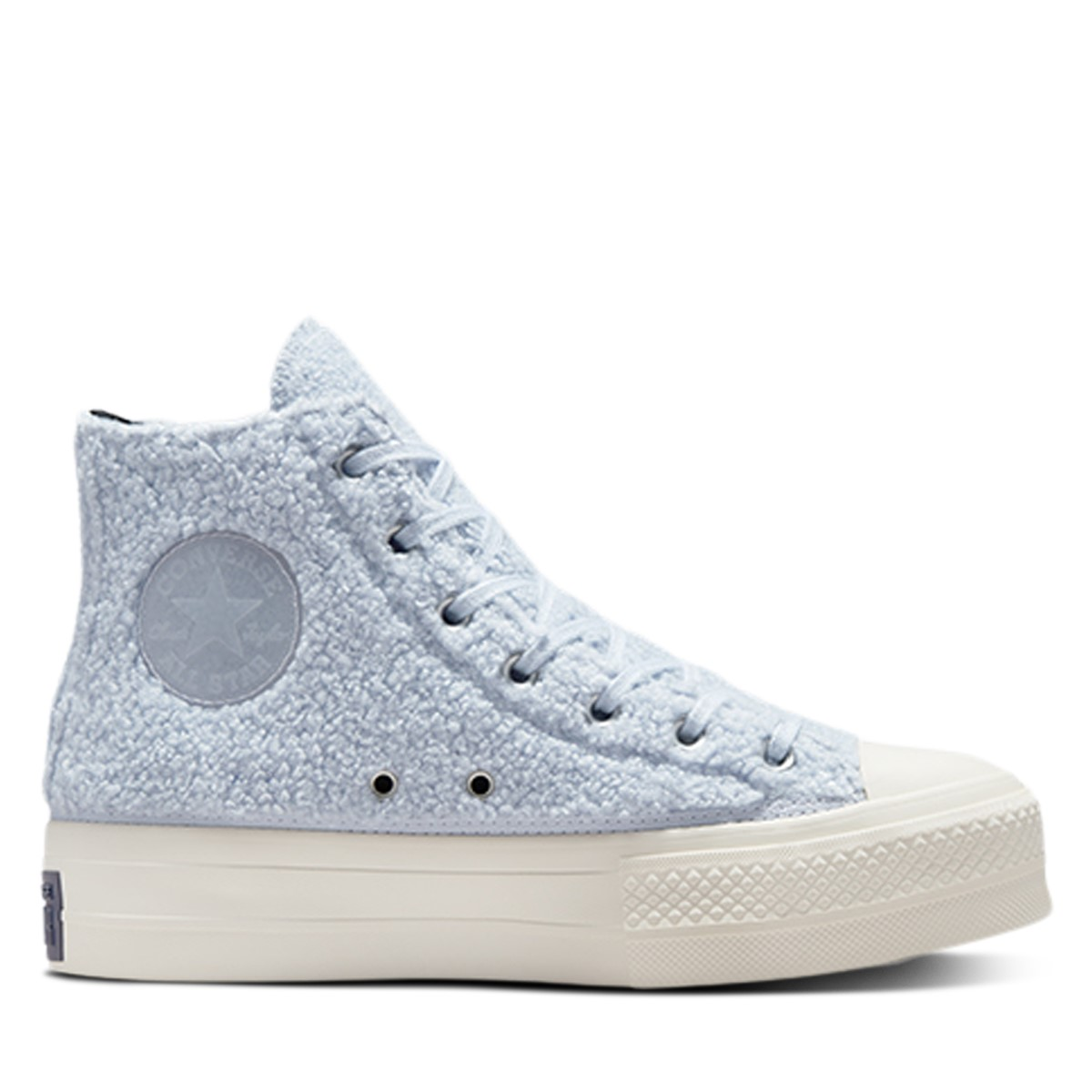 Women's Chuck taylor All Star Platform High top Sneakers in Baby Blue