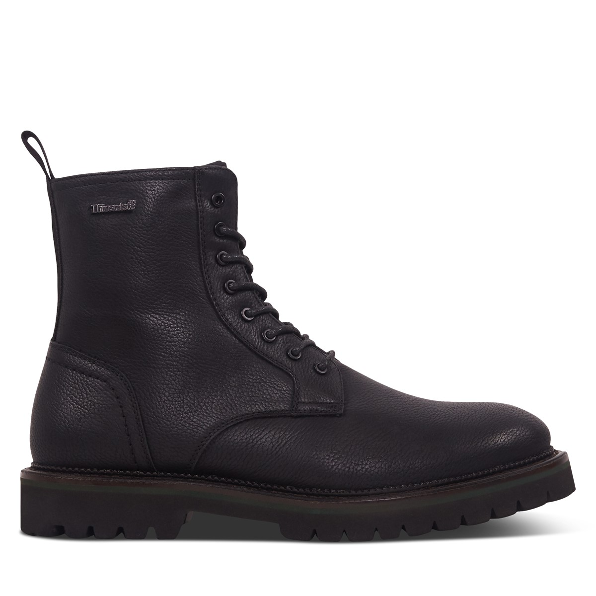 Men's Theo Lace Up Boots in Black