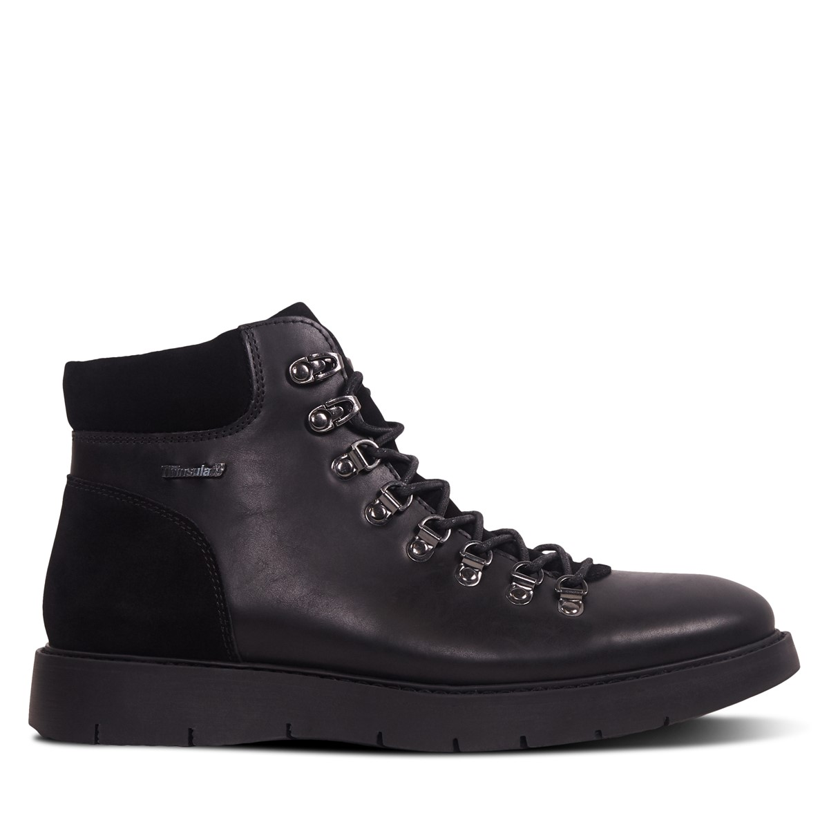 Men's Liam Lace-up Boots in Black