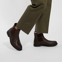 Men's Tanios Chelsea Boots in Dark Brown