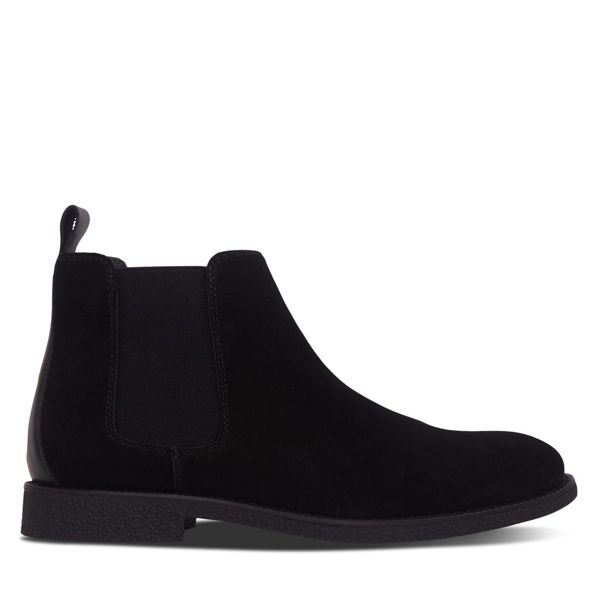 Men's Ellio Chelsea Boots in Black