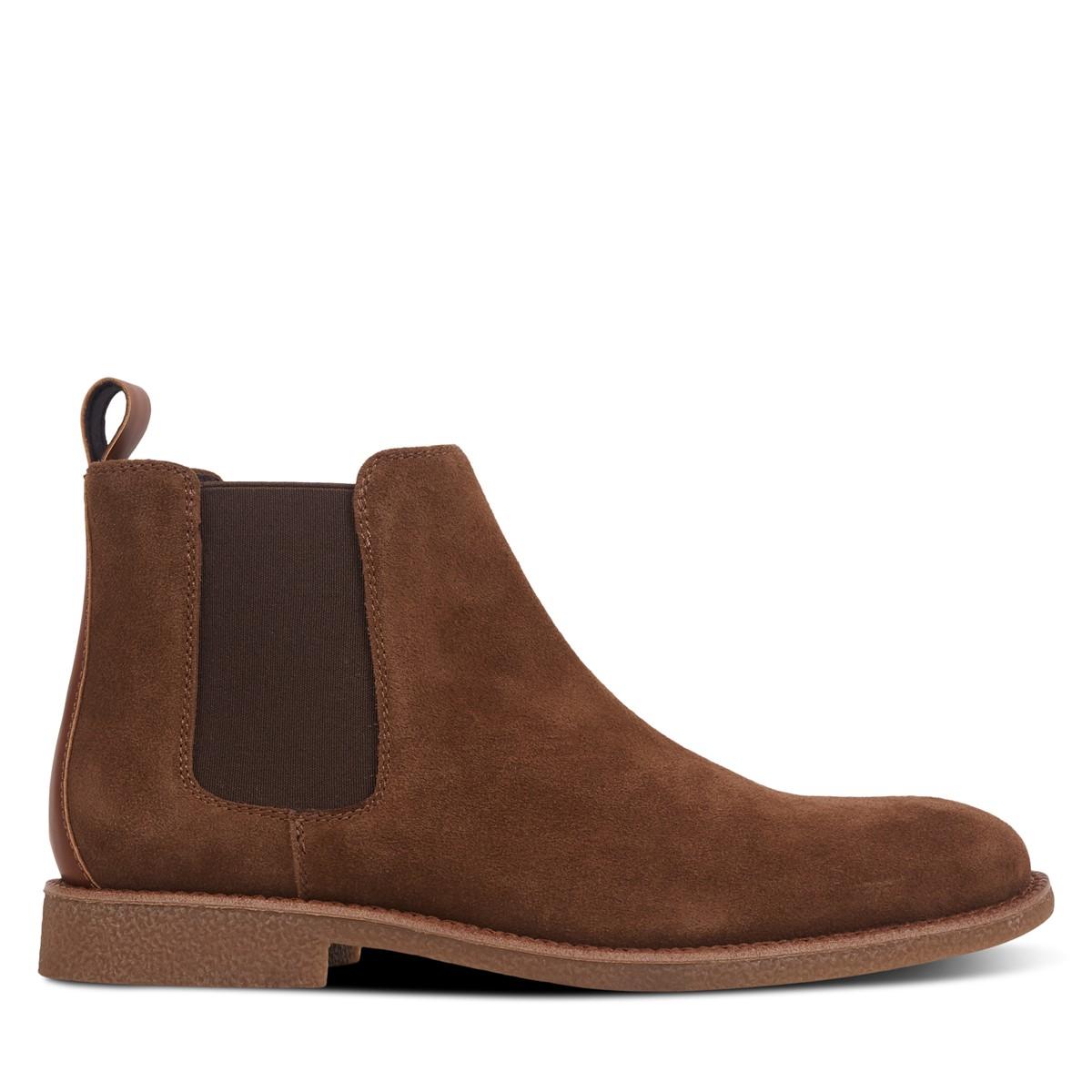 Men's Ellio Chelsea Boots in Brown