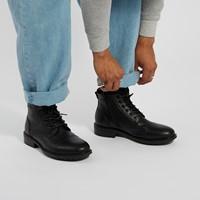 Bottes à lacets Oliver noires pour hommes