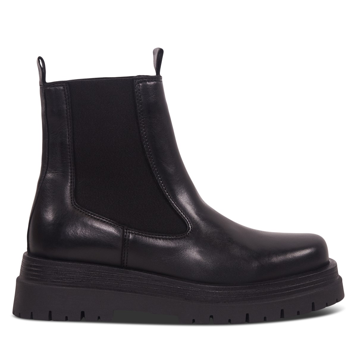 Women's Ren Platform Chelsea Boots in Black