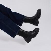 Bottes chelsea longues Alice noires pour femmes