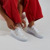 Baskets Club C 85 blanc et rose pour femmes